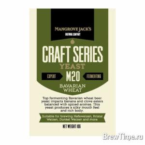 Дрожжи элевые Mangrove Jack's M20 Bavarian Wheat